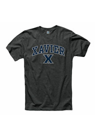 Xavier Musketeers Black Midsize Arch Tee
