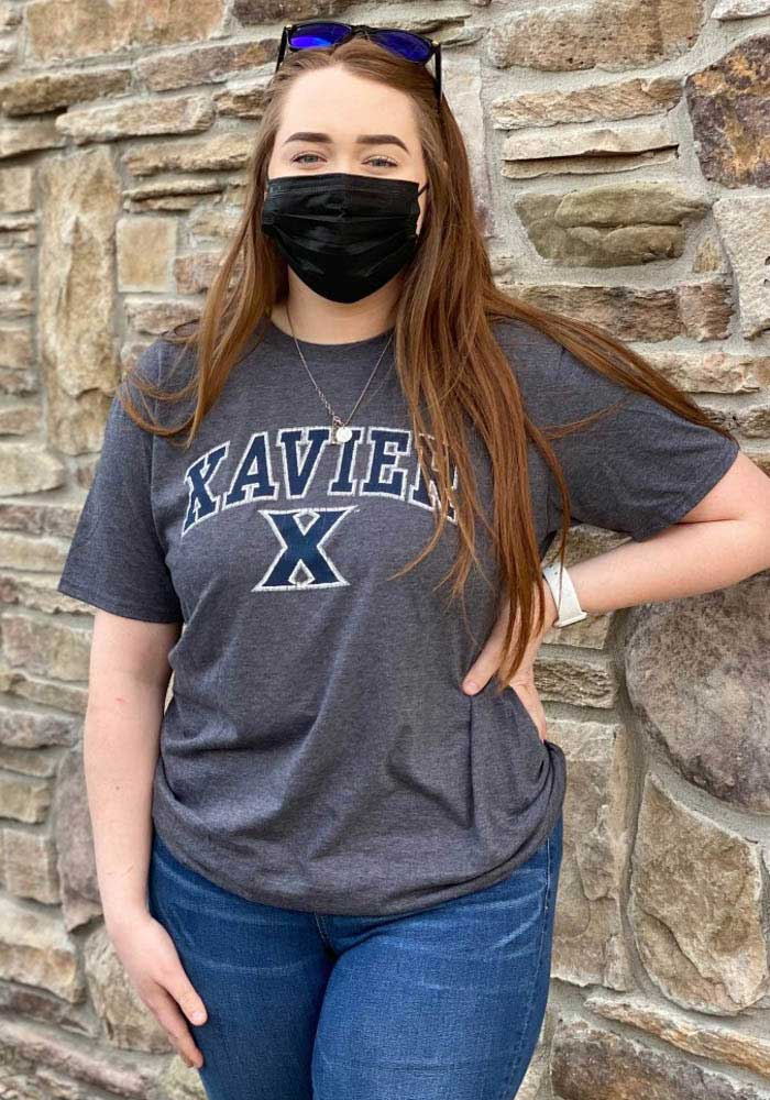 Xavier Musketeers Black Midsize Arch Short Sleeve T Shirt - Image 2