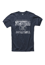 Xavier Musketeers Navy Blue Aligned BB Tee