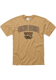 Western Michigan Broncos Gold Midsize Tee
