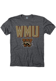Western Michigan Broncos Black Initiate Tee