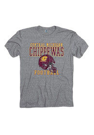 Central Michigan Chippewas Grey Sport Tradition Tee