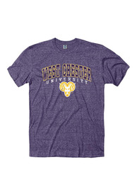 West Chester Golden Rams Purple Midsized Tee