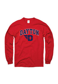 Dayton Flyers Red Arch Tee