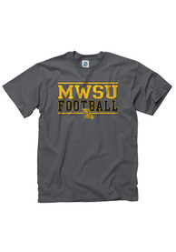 Missouri Western Griffons Charcoal Football Tee
