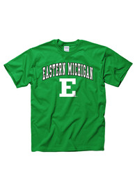 Eastern Michigan Eagles Green Arch Mascot Tee