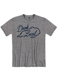 Kentucky Grey Drink Local Short Sleeve T Shirt