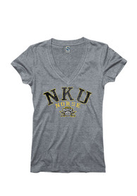 Northern Kentucky Norse Juniors Grey Varsity Ageless V-Neck