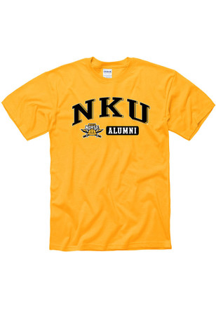 Northern Kentucky Norse Mens Gold Alum Tee