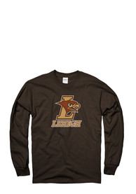 Lehigh University Brown Logo Tee