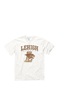 Lehigh University White #1 Tee