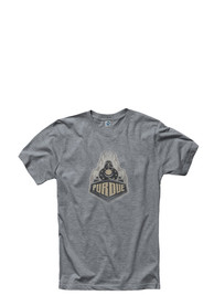Purdue Boilermakers Grey Fade Out Tee