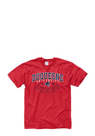Duquesne Dukes Red Under Arc Tee