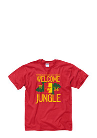 Pitt State Gorillas Red Jungle Tee