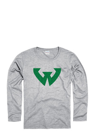 Wayne State Warriors Womens Grey Spirit Women's Crew