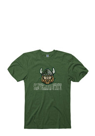Cleveland State Vikings Green Hollow Tee