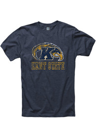 Kent State Golden Flashes Navy Blue Hollow Tee
