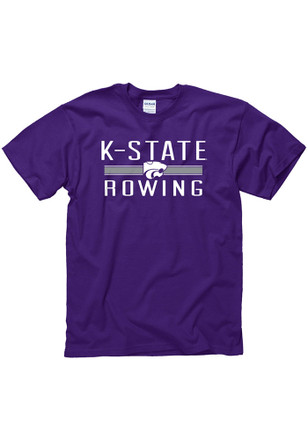 K-State Wildcats Mens Purple District Tee