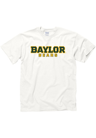 Baylor Mens White Rally Loud Tee