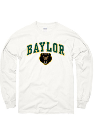 Baylor Mens White Arch Tee