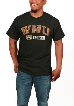 Western Michigan Broncos Mens Black Alum Tee