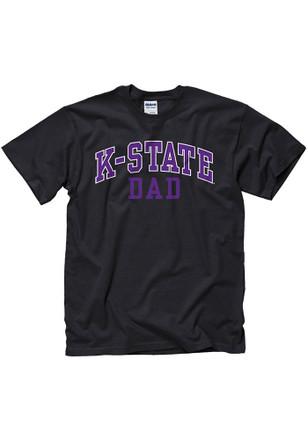 K-State Wildcats Mens Purple Dad Tee
