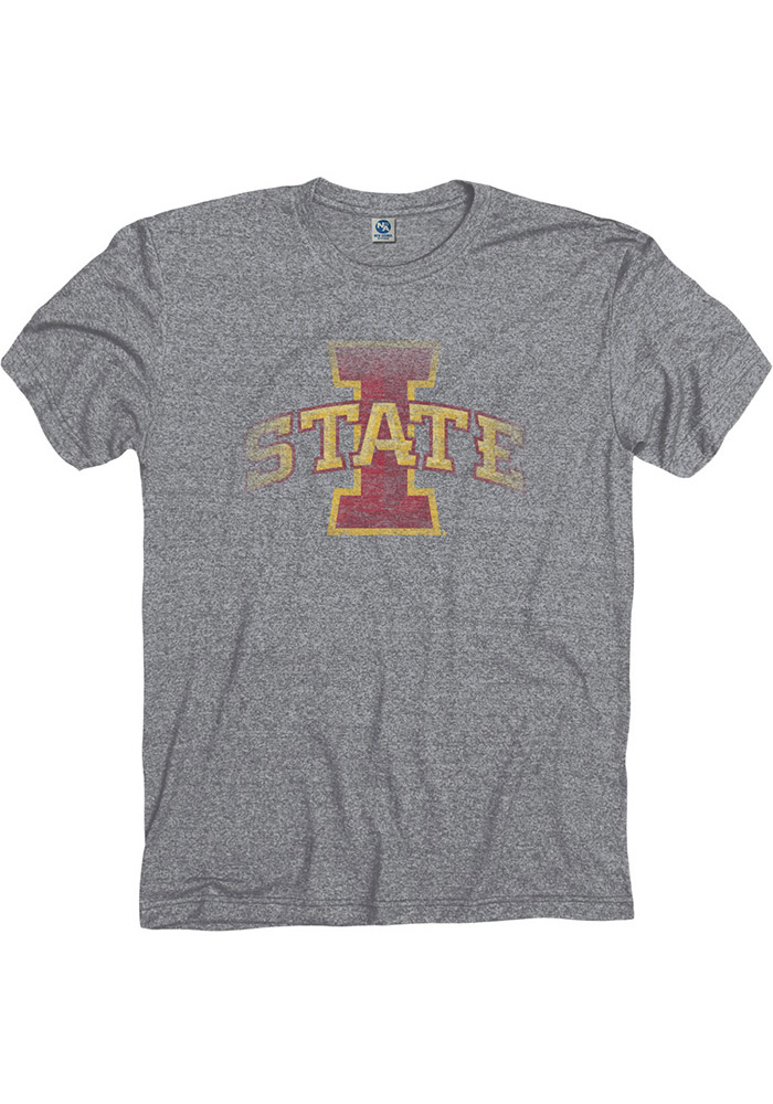 Iowa State Cyclones Grey Fade Out Tee