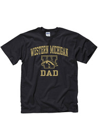 Western Michigan Broncos Black Dad Tee