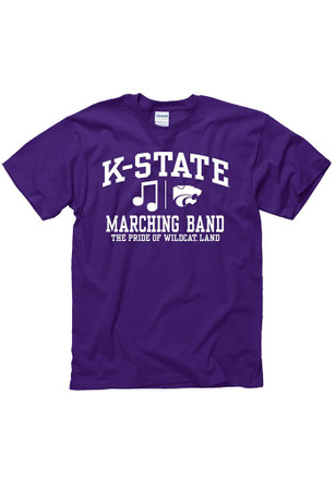 K-State Wildcats Mens Purple Band Tee