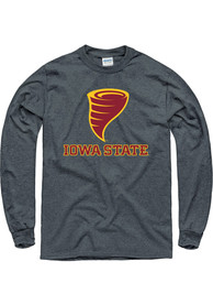 Iowa State Cyclones Grey Logo Tee