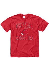 Central Missouri Mules Red #1 Design Tee