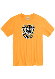 Fort Hays State Tigers Gold Primary Logo Tee
