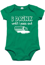 St Patrick's Day Baby Drink Until I Pass Out One Piece