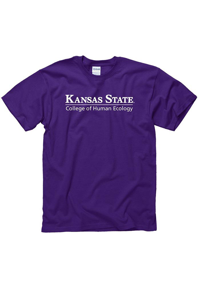 K-State Wildcats Purple College of Human Ecology Tee