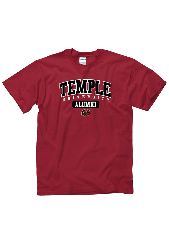 Temple Owls Red Alumni Tee