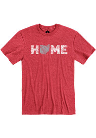 Ohio Red Home Short Sleeve T Shirt