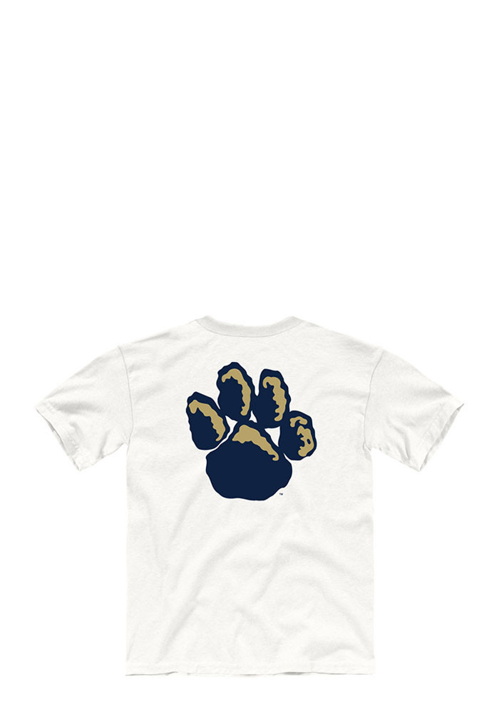 Pitt Panthers Youth White Tryout Rally Short Sleeve T-Shirt - Image 2