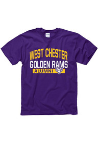 West Chester Golden Rams Purple Alumni Tee