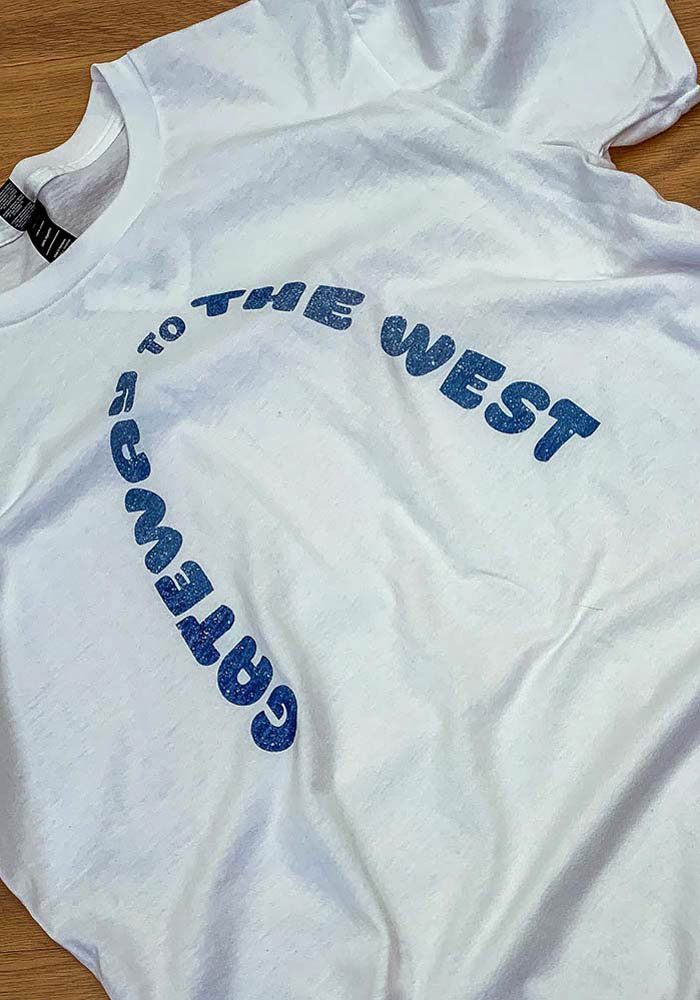 St Louis White Gateway to the West Arch Short Sleeve T Shirt - Image 2
