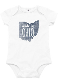 Ohio Baby White Made In One Piece