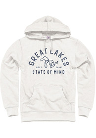 Michigan Oatmeal Great Lakes State of Mind Long Sleeve Hood Sweatshirt