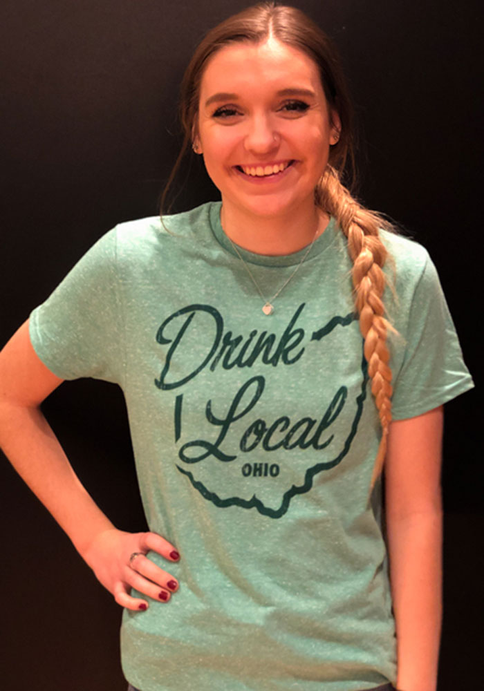 Ohio Green Drink Local Short Sleeve Fashion T Shirt - Image 2
