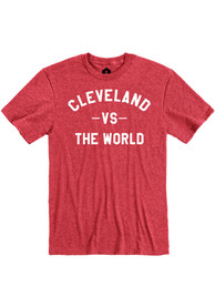 Cleveland Red VS The World Short Sleeve T Shirt