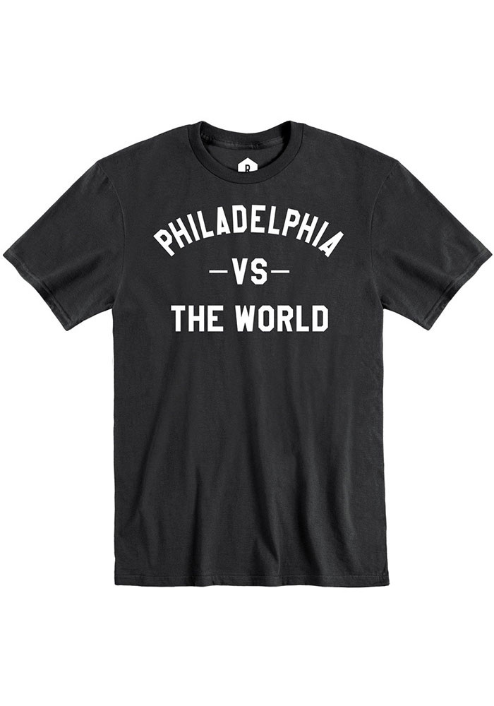 Philadelphia Black VS The World Short Sleeve T Shirt