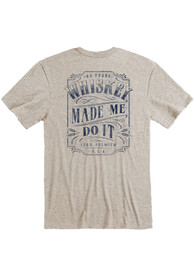 Kentucky Oatmeal Whiskey Made Me Short Sleeve T Shirt
