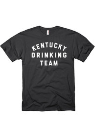 Kentucky Black Drinking Team Short Sleeve T Shirt