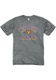 West Chester Golden Rams Heathered Alumni Fashion T Shirt - Grey