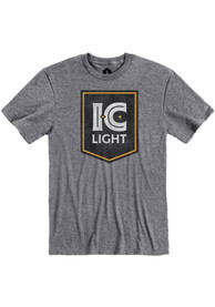 Pittsburgh Brewing Co. Graphite IC Light Logo Short Sleeve T Shirt