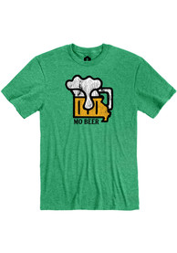 Missouri Heather Green MO Beer Short Sleeve T Shirt