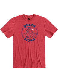 Fiona the Hippo Heather Red Queen Short Sleeve T Shirt